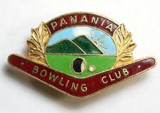 Vintage Panania Bowling Club Enamel Badge