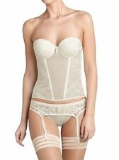 TRIUMPH BEAUTIFUL SPOTLIGHT CRSU MULTIWAY CORSET BASQUE IVORY 36B BNWT £60.00