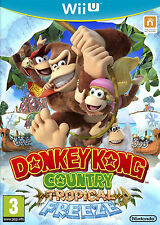 Bn sealed donkey kong country: tropical freeze WII U (etats-unis console only!!!)