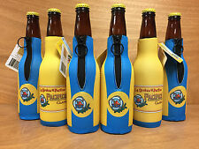 Pacifico Clara Beer Cerveza Authentic Bottle Koozie Cooler New & F/Ship Set of 6