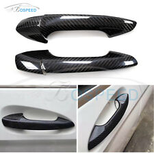 Carbon Fiber 2 Door Handle Cover for Mercedes Benz W204 C Class C250 Coupe 2013