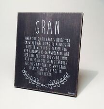 Gran Poem Christmas Stocking Filler Gift Ideas for Her & Grandparents VIN501