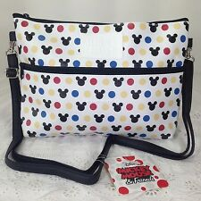Disney Mickey Mouse Tote Shoulder Handbag Purse Beach Bag W 26 x H 17.5 cm (S).