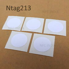 NFC Stickers | Upgrade of Ntag203 | Universal Ntag213 - 5 pcs
