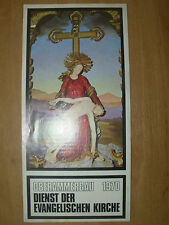 VINTAGE TOURIST BROCHURE OBERAMMERGAU GERMANY 1970 PASSION PLAY