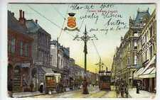 (Lv017-382) Queen Street, Cardiff, 1905, Used G-VG