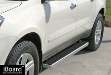 """Premium 4"""" iBoard Running Boards Fit 07-17 Chevy Traverse/GMC Acadia"""