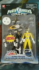 Power Rangers in Space Astro YELLOW New bonus Mighty Morphin BLACK SEALED RARE 2