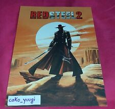 LITHOGRAPHIE REDSTEEL 2 LITOGRAPH COLLECTOR EDITION