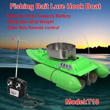 BRAND NEW T10 CARP BAIT BOAT for Finding Fish w/Anti Grass Cover+6400mAh Battery