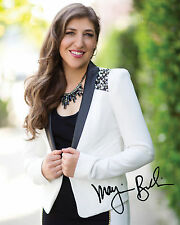 TBBT MAYIM BIALIK #1 10X8 PRE PRINTED (SIGNED) LAB QUALITY PHOTO - FREE DEL
