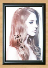 LANA DEL REY Born To Die SIGNED Autographed PHOTO Print POSTER Shirt CD A4