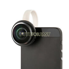 Clip-on Super Fisheye 235°Camera Lens for iPhone 4S 5S 5C 5 Samsung Galaxy S3 S4
