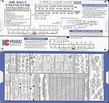 Air Duct Sizing Calculator HVAC Heating and Cooling