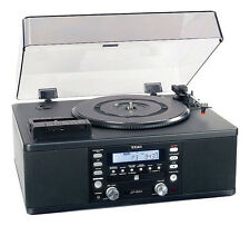 TEAC LP-R500 Turntable - Black - Record all Your Vinyl To CD!