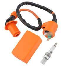 Racing Performance CDI+ Ignition Coil + Spark Plug Fit Gy6 50cc 125cc 150cc JF