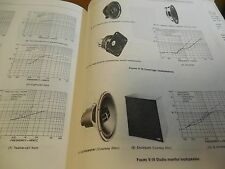 665 pages on Horn Speakers, Sound System testing & installing - Best Book Ever
