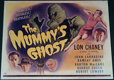 THE MUMMY'S GHOST 11x14 TITLE CARD MOVIE POSTER! LON CHANEY JR. HORROR CLASSIC!