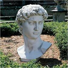 Head of David Fragment from Original Statue by Michelangelo Reproduction