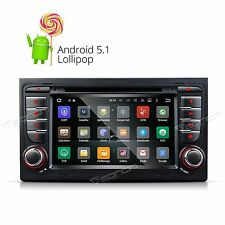 US Android 5.1 Car DVD Stereo GPS Radio for Audi A4 S4 RS4 2002-2007 Bluetooth A