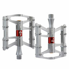 RockBros MTB Road Bike Aluminum Alloy 4 Sealed Bearings Cycling Pedals Silver