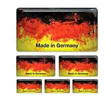 Germany German Flag domed sticker decal emblem BMW, VW, Porsche, Mercedes