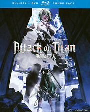Attack on Titan : Part 2 (Blu-ray + DVD Combo, 2014, 4-Disc Set w/ slip cover)