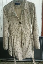 Vintage boutique ladies rain coat size 16
