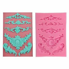 Silicone relief lace mold fondant cake molds chocolate mould for kitchen baking