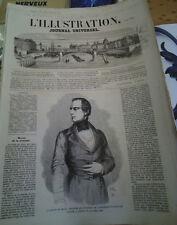 L'illustration n°897 5 mai 1860 baron de bruck chem fer montauban rodez toulouse