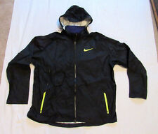 NIKE Running Windbreaker Stay Warm Dry Rain Jacket Rainwear Black 3XL NWOT