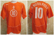 Netherlands #10 van Nistelrooy 2004/2005/2006 home Holland shirt jersey maglia