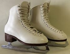 T. Altamura Leather Ice Skating Boots size 6.5 - England