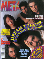 METAL SHOCK 236 1997 Dream Theater Sepultura L7 Angra 69 Eyes Alastis Black Absu