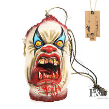 Adult Hanging Scary Ghost Heads Lamps Light Horror Halloween Decor Cosplay Props
