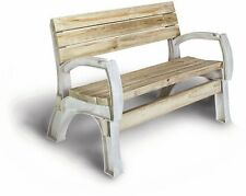 Bench Or Chair Outside Patio Furniture Garden Picnic Seat Wood Bench 2x4 Kit