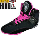 RYDERWEAR LADIES RAPTORS BLACK PINK GYM SHOES TRAINING LIFTING SPORTS RYDER WEAR