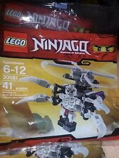 LEGO Ninjago 30081 FRAKJAW Skeleton Chopper Retired and Sealed Buy 6 = free ship