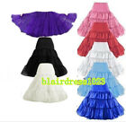 "Retro Underskirt 26"" 50 Tutu Skirt Rockabilly Wedding Petticoat Fancy Net Dress"