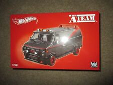 2012 Hot Wheels The A Team Van GMC #X5531 NRFB Mint & Sealed Gray/Black 1:18