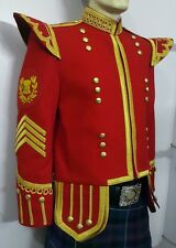 Drum Major Doublet Red, With Golden Braid & Trim.
