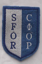 Hungary Hungarian Republic SFOR NATO Bonsia Stabilization Force IFOR Patch Badge