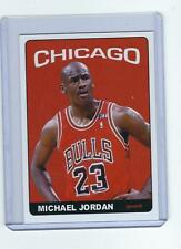2003 04 MICHAEL JORDAN  ODDBALL CARD CHICAGO BULLS # 23 IN RED JERSEY RARE