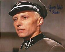 Hand Signed 8x10 photo GEORGE MIKELL in THE GUNS OF NAVARONE Great Escape Star