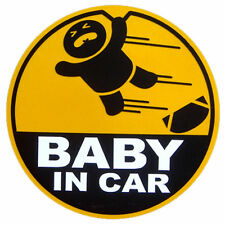 Baby in Car safety stickers decals sign warning for child infant funny japanese