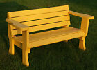 PLANS to build beautiful strong Park Style Bench. Patio/garden furniture,