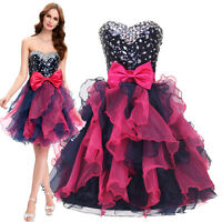 Sequins Cocktail  Homecoming Short Formal Prom Evening Masquerade Party Dress