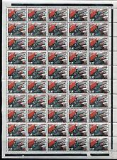 RUSSIA YR 1938,SC 635,MI 594, MNH,FULL SHEET OF 50,WHITE PAPER,RED ARMY