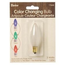CANDLE BULB--Color Changing Bulbs for use in Battery Operated Lamps #6201-87