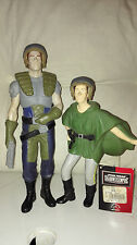 STAR WARS PRINCESS LEIA  DOLL & DASH RENDAR  / PRINCESSE LEIA&DASH RENDAR